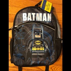 "NWT LEGO Batman 16"" Backpack"